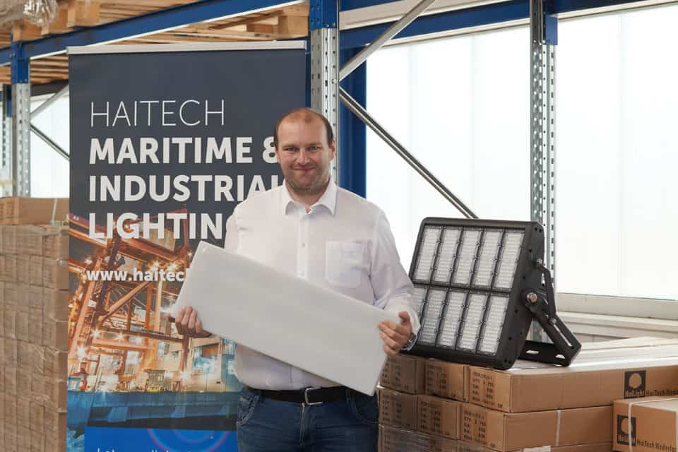 Verlichting van Haitech mogelijk  interessante optie voor de binnenvaart