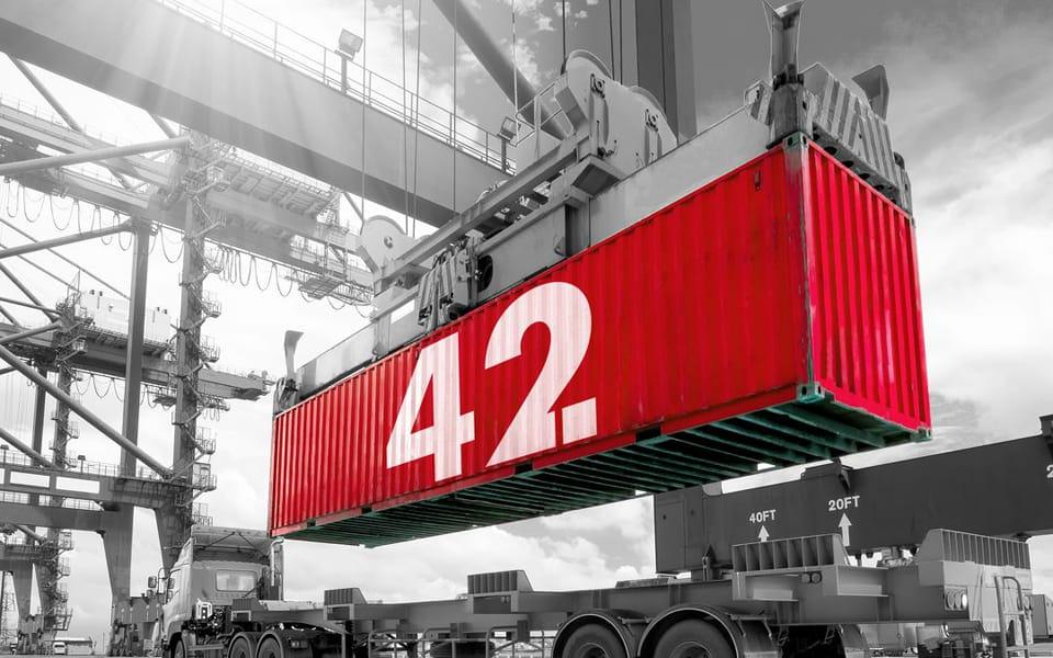 Rotterdam stuurt hyperintelligente  container op wereldreis