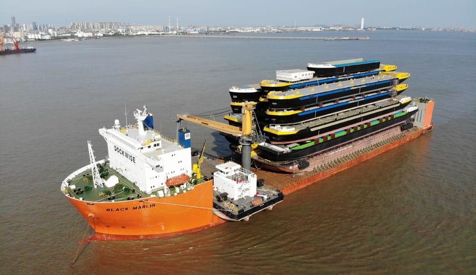 Indrukwekkend transportvoor Concordia Damen