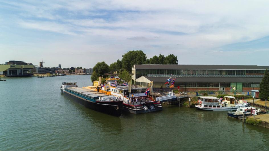 Binnenvaartmuseum geopend  tijdens Binnenvaartdagen Zwijndrecht