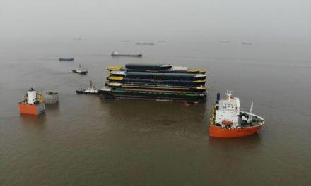 Indrukwekkend transport voor Werkendam