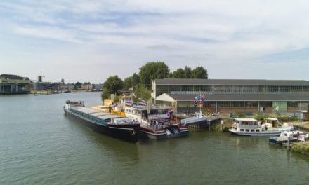 Het binnenvaartmuseum en -documentatiecentrum in Dordrecht