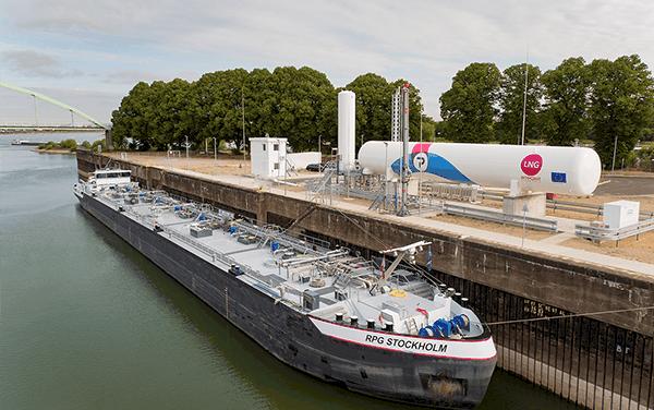 PitPoint opent eerste vaste LNG-bunkerstation van Europa