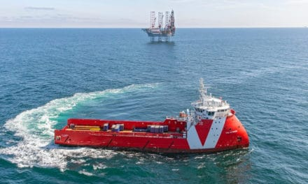Premier Oil chartert Vroons VOS Patience