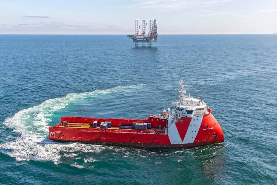 Premier Oil chartert Vroons VOS Patience