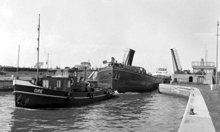 De Zeeburgsluizen van het Merwedekanaal