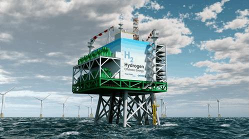 Belgische Noordzee-windparken  kunnen waterstof produceren