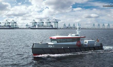 Kooiman bouwt twee patrouillevaartuigen voor Port of Antwerp