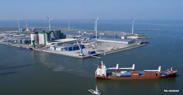 Besparing aardgasgebruik in de Eemshaven door warmtelevering