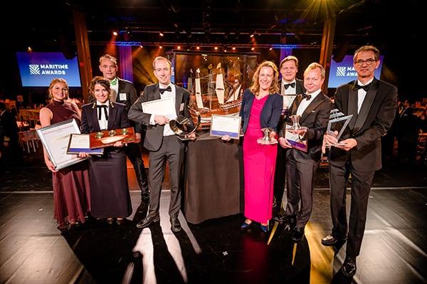 Vijf winnaars op het Maritime Awards Gala 2019