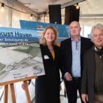 Binnendijks bedrijventerrein Flevokust Haven feestelijk geopend