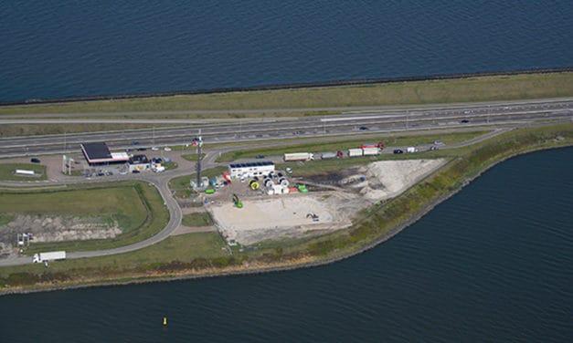 Van Oord gaat windpark Fryslân aanleggen langs de Afsluitdijk