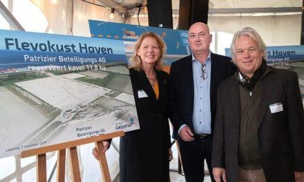Flevokust Haven binnendijks geopend