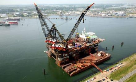 Kraanschepen Heerema: van dieselgeneratoren  op windenergie