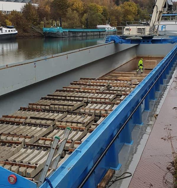 Keihard nieuws: beton over water