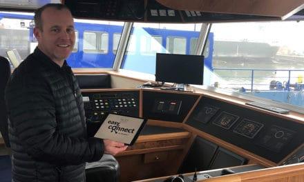 Vlootmanagementsysteem Easy Connect moet schippers en bemanning ontlasten