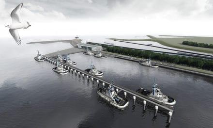 Bouw dienstenhaven begonnen bij Nieuwe Sluis Terneuzen