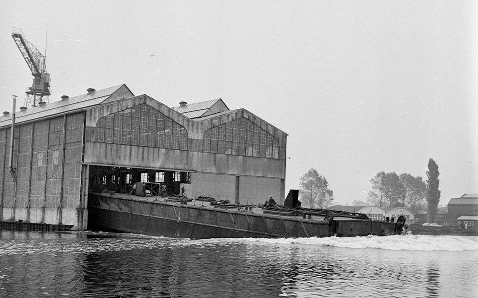 """Lezing over de """"Opkomst en ondergang van Scheepswerf en Machinefabriek De Liesbosch"""""""