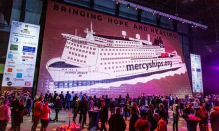 Grootste kunstwerk van chocolade voltooid voor Mercy Ships