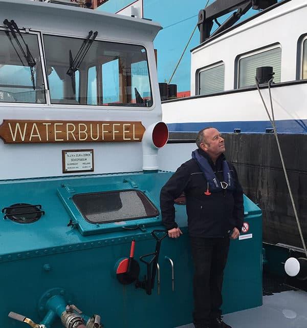 Met vierde waterboot nu ook drinkwater voor de binnenvaart op de Maasvlakte