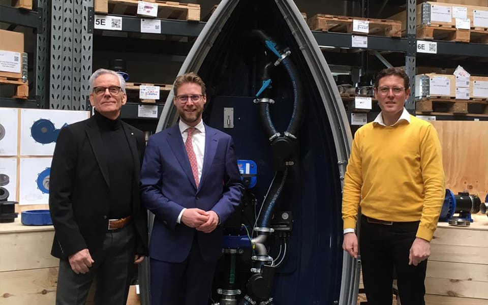 MBK-katalysatorfonds steunt ontwikkeling micro manoeuvreersysteem kleine pleziervaartuigen
