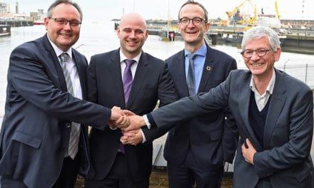 Hyport: groene-waterstoffabriek in Oostende