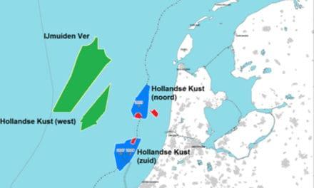 Tender windparkzone Hollandse Kust Noord geopend