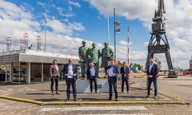 Damen Shiprepair Harbour & Voyage signs contract with Verolme Special Equipment for ECGS service provision