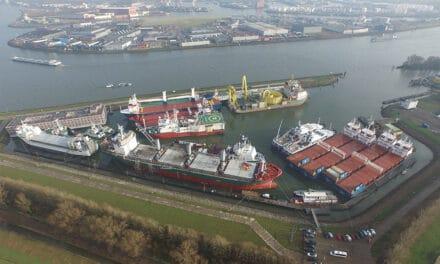 Dutch Harbour: veilige, nette opleghaven  met uniek, compleet voorzieningenpakket