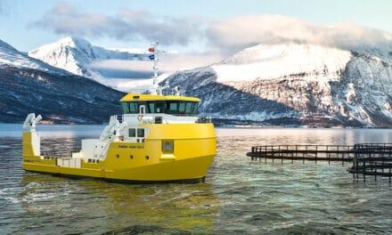 Damen unveils new Utility Vessel 2613 for versatile fish-farming operations