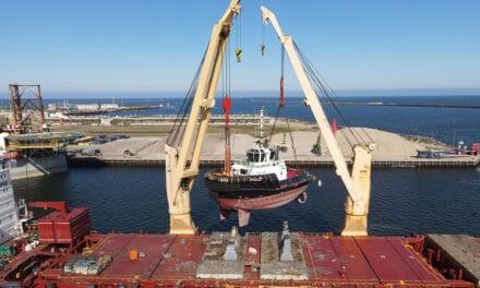 Damen delivers ASD Tug 2312 to Iskes in IJmuiden