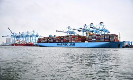 Opnieuw record in Rotterdamse containerhaven