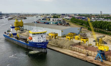 BARKMEIJER SHIPYARDS DELIVERS INNOVATIVE DREDGER ANCHORAGE