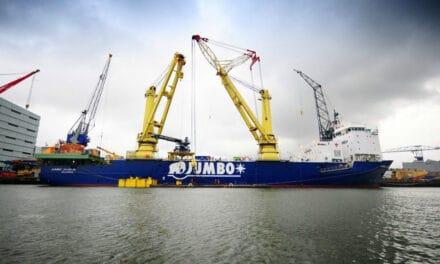 Alewijnse Marine levert met succes elektrische conversi van Jumbo Javelin op