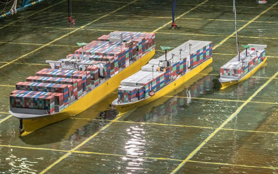 Vervolgonderzoek containerverlies Wadden