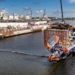 Uitgraven sluiskolk nieuwe zeesluis van start