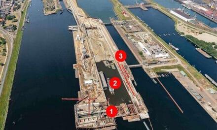Nieuwe zeesluis, wat gebeurt er in juli en augustus?