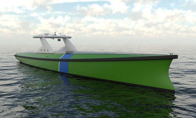 Nieuw Autonomous Guard Vessel concept design zal offshore wind transformeren