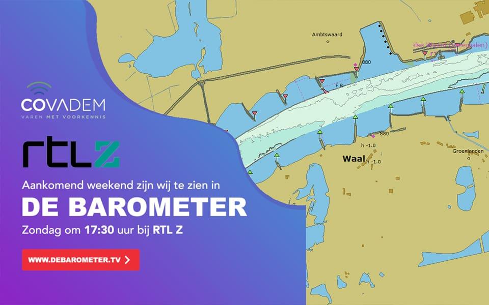 """CoVadem zondag bij RTL Z """"De Barometer"""""""