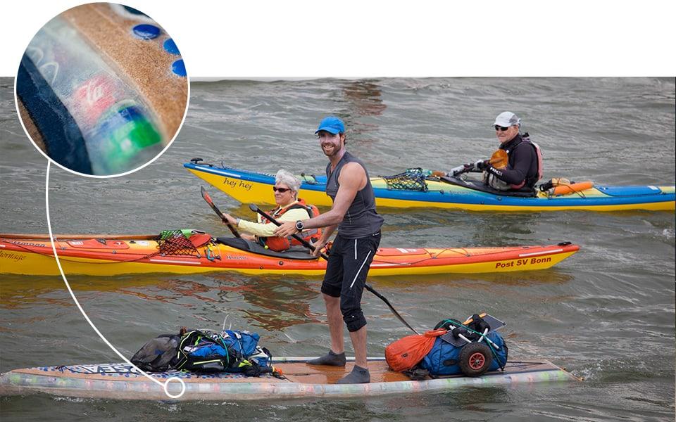 Groot offensief tegen plastic in onze rivieren