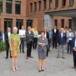 Minister Lydia Peeters installeert hernieuwde raad van bestuur van De Vlaamse Waterweg
