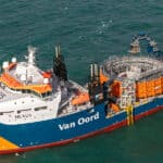 Ørsted and Van Oord have successfully installed all array cables of the Borssele I & II offshore wind farm