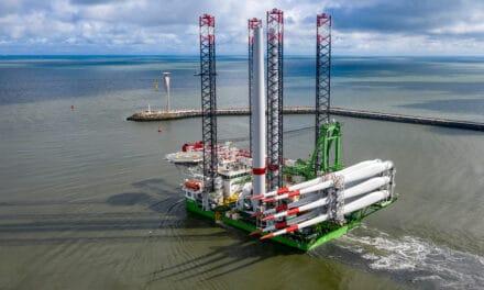 Turbines op grootste  offshore windpark België