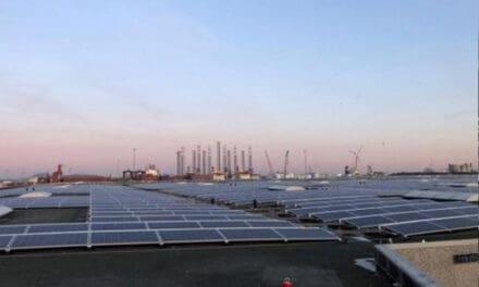 In 2024 250.000 m2 zonnepanelen in de Amsterdamse haven