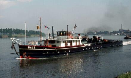 de m.s.b. BALE; van sleepboot naar beunschip