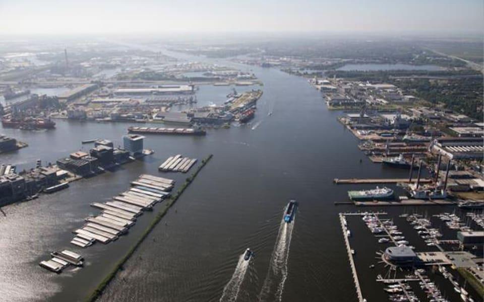 Waterstofbackbone voor het Noordzeekanaalgebied