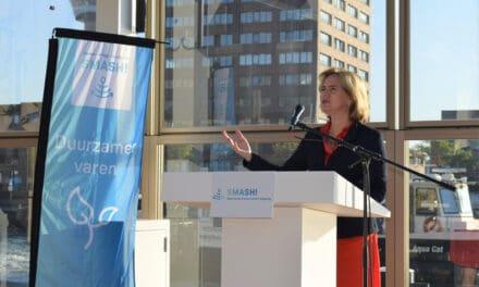 Minister van Nieuwenhuizen ( IenW) geeft startsein Nederlands Forum Smart Shipping