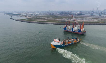 Van Oord's Deep Dig-It trencher buries cables to 5,5 metres depth for offshore grid connection