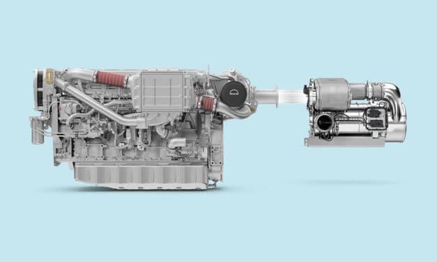 MAN Rollo levert eerste Stage V maritieme motor