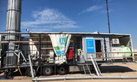 Unieke mobiele ontgassing in Rotterdam